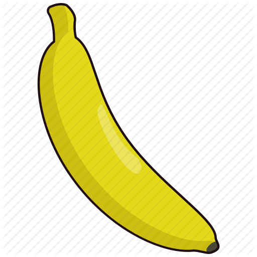 clipart library library Fruits vegetables vol by. Bananas vector ripe