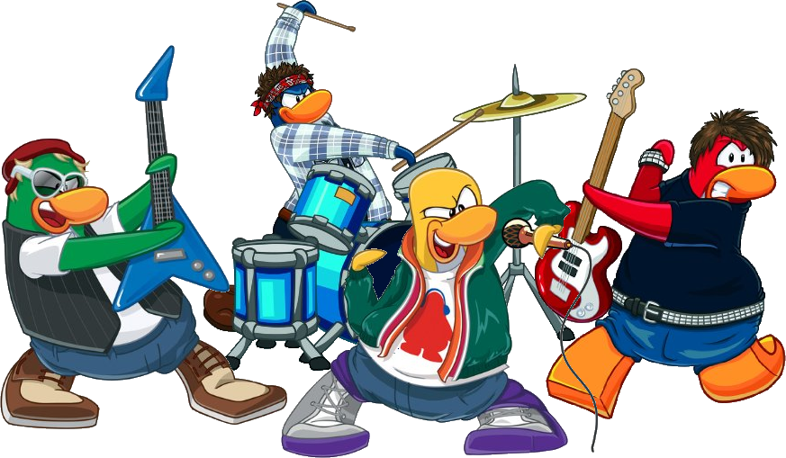 vector transparent download Rock Band Clipart