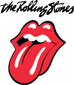 banner free The rolling stones band. Vector bands