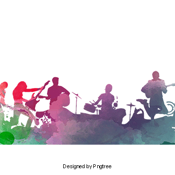 clip free stock Rock band png psd. Vector bands background