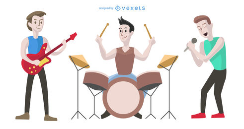 clipart library stock Band vector. Graphics to download .