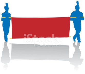 svg free library Marching stock vectors and. Vector band banner