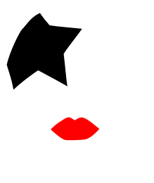 png library library KISS starchild face