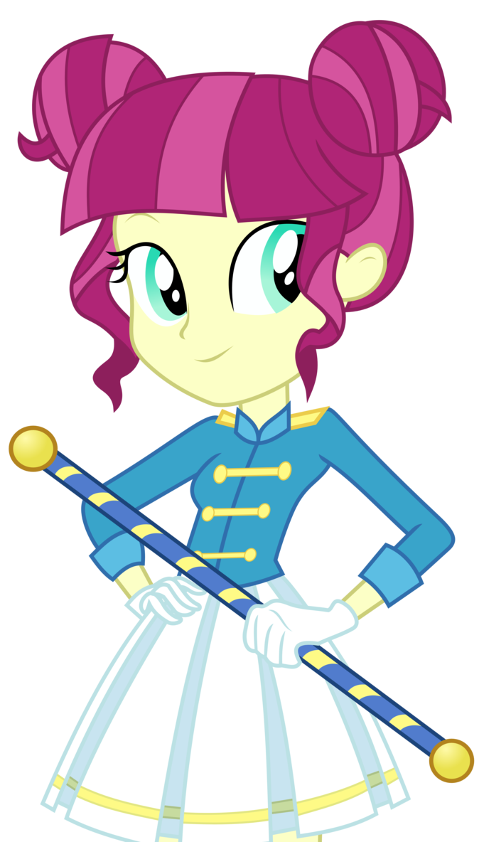 png transparent library Mlp drum major by. Vector band school