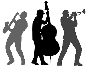 graphic royalty free download Vector band jazz. Pix for silhouette pinterest