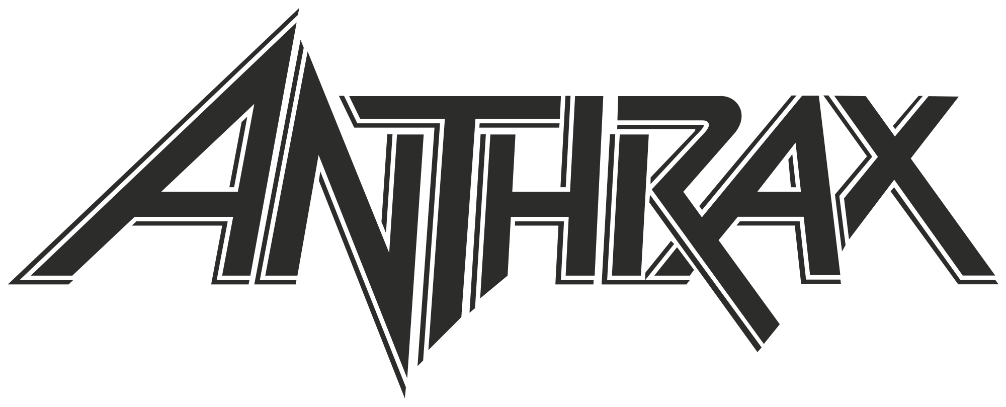 clip library Vector bands background. File anthrax logo svg