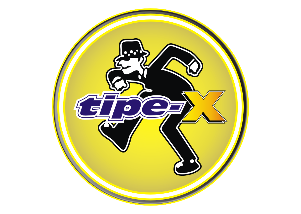 clipart black and white Logo tipe x free. Vector band gambar