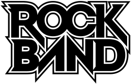 clipart black and white library Vector bands kids rock. Band logosvg