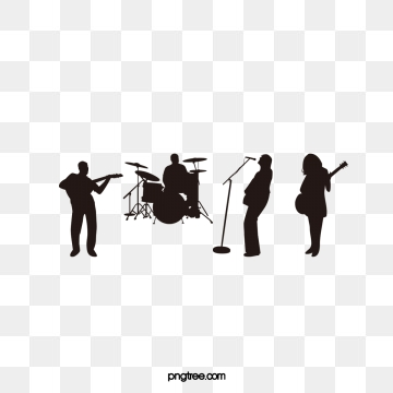 vector black and white stock Clipart png psd and. Vector band shadow