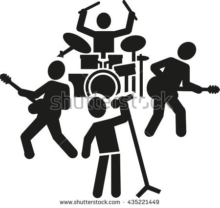 transparent download Rock icon free icons. Vector band person