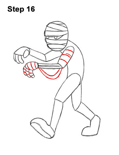 svg stock How to draw a. Bandage drawing beast