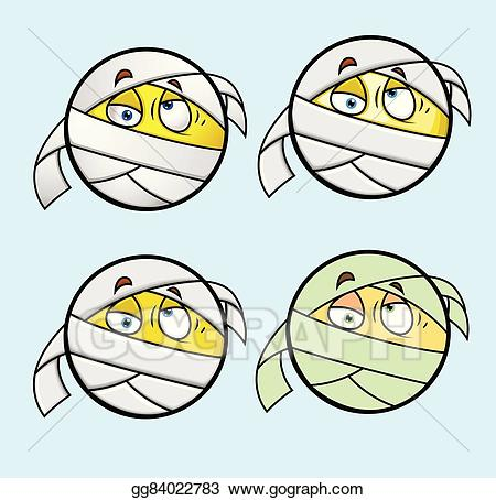 png Vector art face emoticon. Bandage drawing emoji