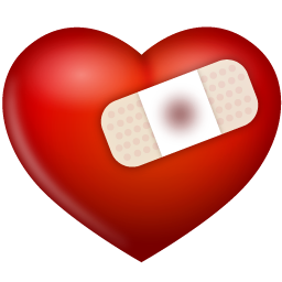 clip free Collection of free bandaging. Bandage drawing heart