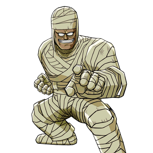 clip black and white library Bandage drawing muscular. Bandages the mummy by