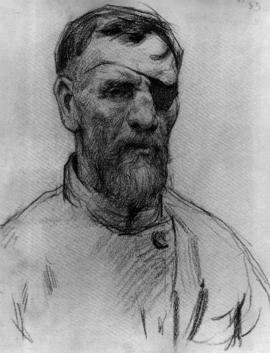 svg library Bandage drawing old. Ilya sergeyevich glazunov man