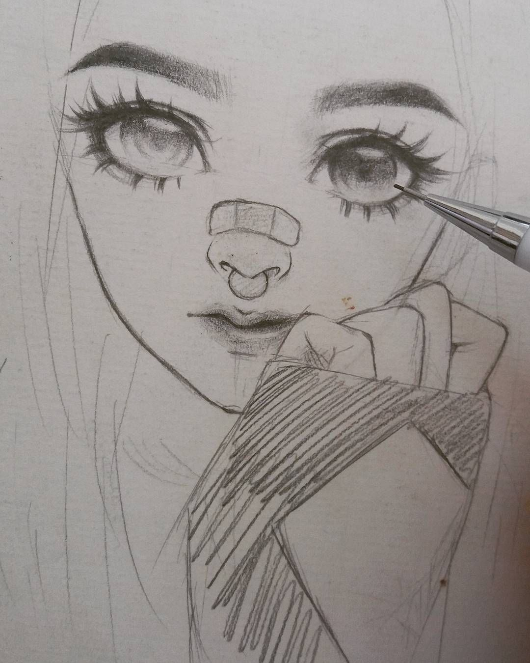 picture freeuse Pin by kiwi smoothie. Bandage drawing realistic