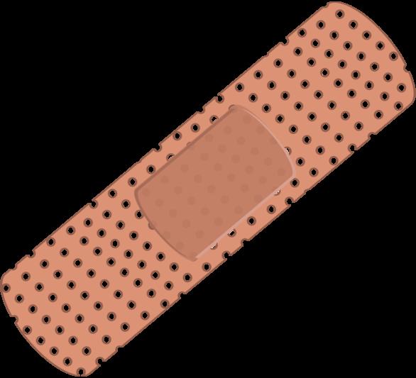 png free Clip art bandage panda. Bandaid clipart.