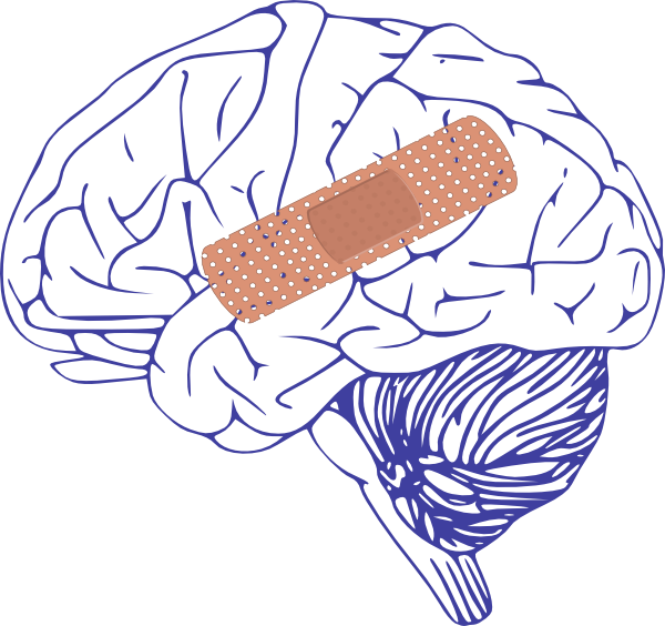 picture download Brain with clip art. Bandaid clipart band aid.