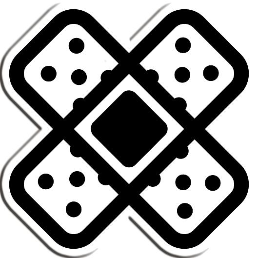 clip art transparent stock Cross Band Aid