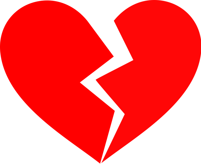picture stock Broken heart with bandaid vector royalty free download