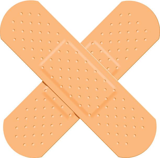 vector royalty free stock Band aid clip arts. Bandaid clipart plaster.
