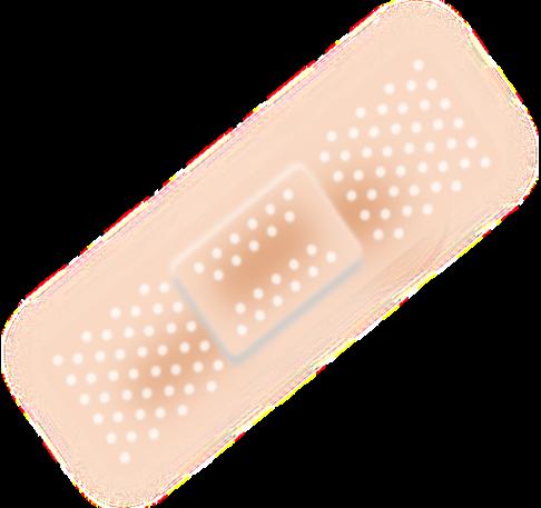 svg free download Bandaid clipart plaster. Bandage free public clipartix.