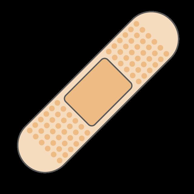 banner freeuse library Bandaid clipart plaster. Band aid bandage free.
