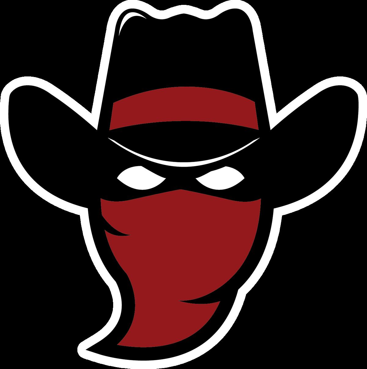 jpg royalty free download Bandits basketball team concept. Cowboys vector bandit