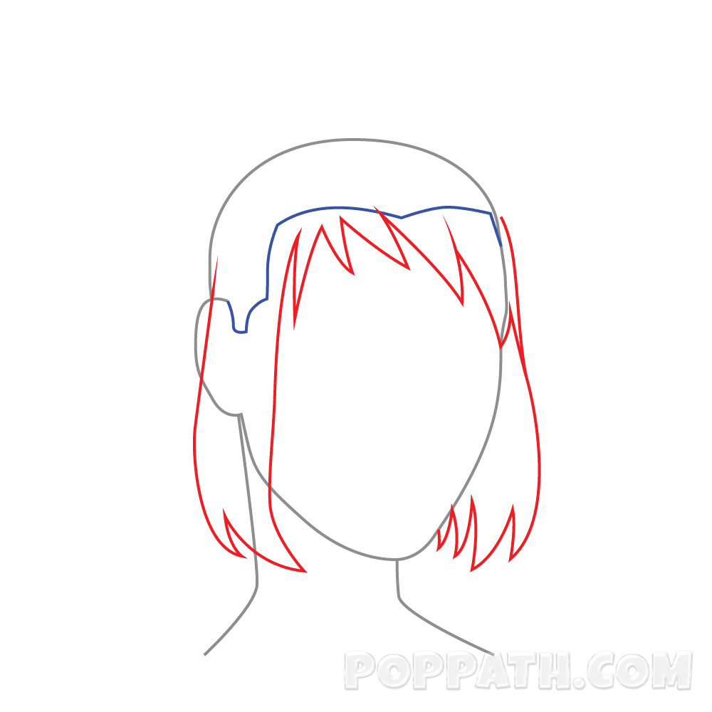 freeuse download How To Draw Female Hairstyle