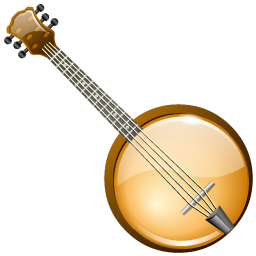picture transparent Banjo clipart. Icons iconshock.