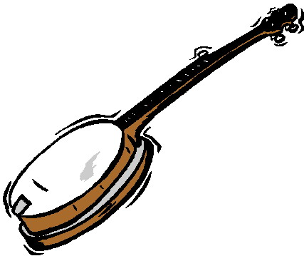 image royalty free library Free cliparts download clip. Banjo clipart.