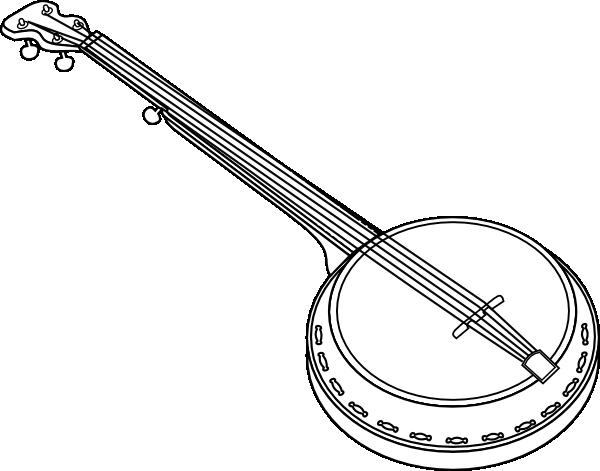 clip art freeuse download Banjo clipart. Clip art at clker.