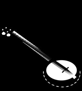 picture  string clip art. Banjo clipart.