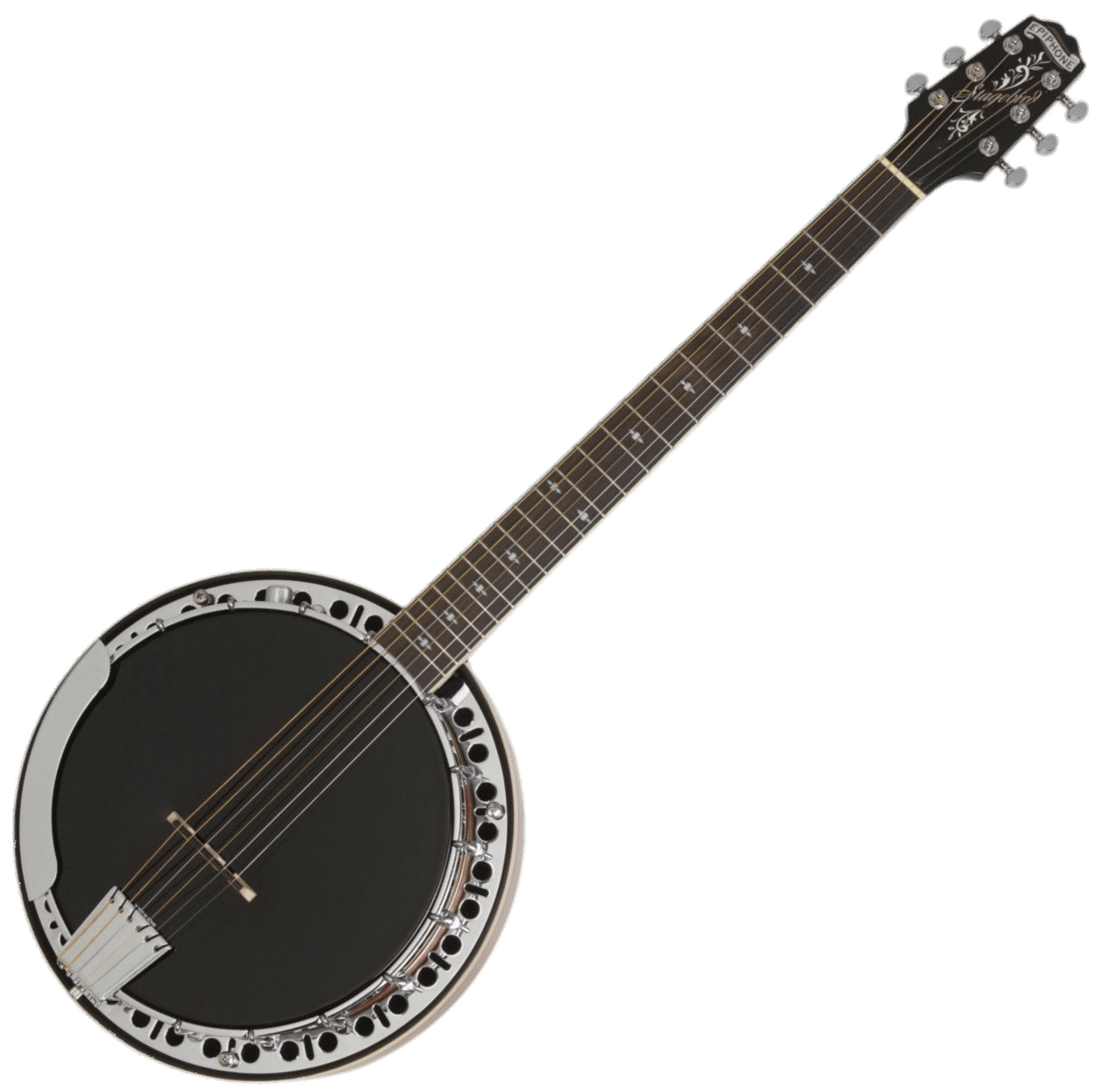 picture library download Banjo clipart black and white. Transparent png stickpng.