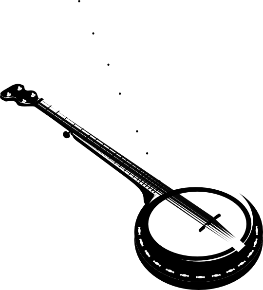 clipart free download banjo vector musical instrument #89835795