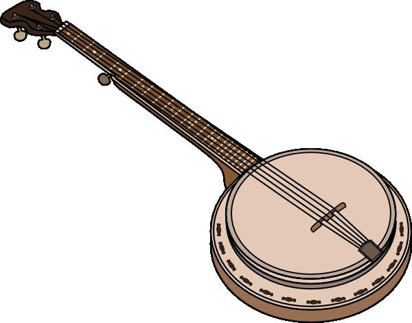 png free Banjo Clip Art at Clker