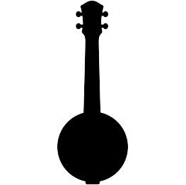 png free library Banjo Silhouette