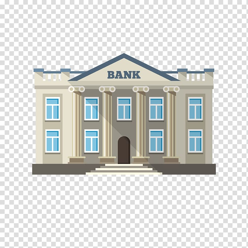 picture library library Bank building clipart. Download for free png