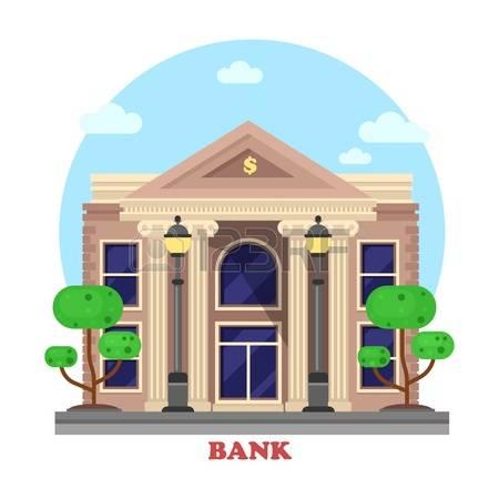 banner transparent Free cliparts download clip. Bank building clipart