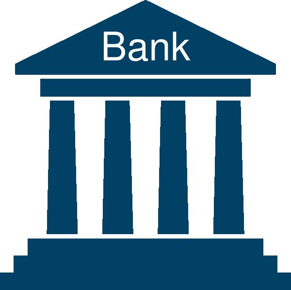 png transparent Blue clip art at. Bank clipart