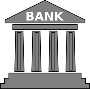 clip royalty free Free . Bank clipart