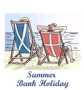 clip art freeuse library Summer holiday calendar history. Bank clipart england bank.