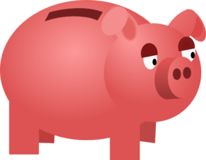 graphic free download Piggy clip art at. Bank clipart vector