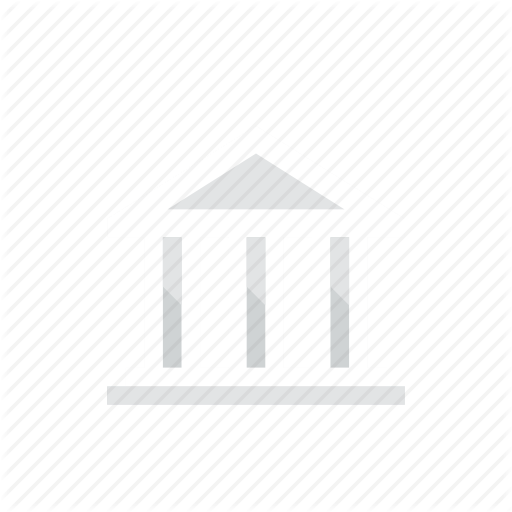 svg free library Bank icon