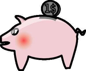 clipart freeuse stock Piggybank clip art at. Banker clipart