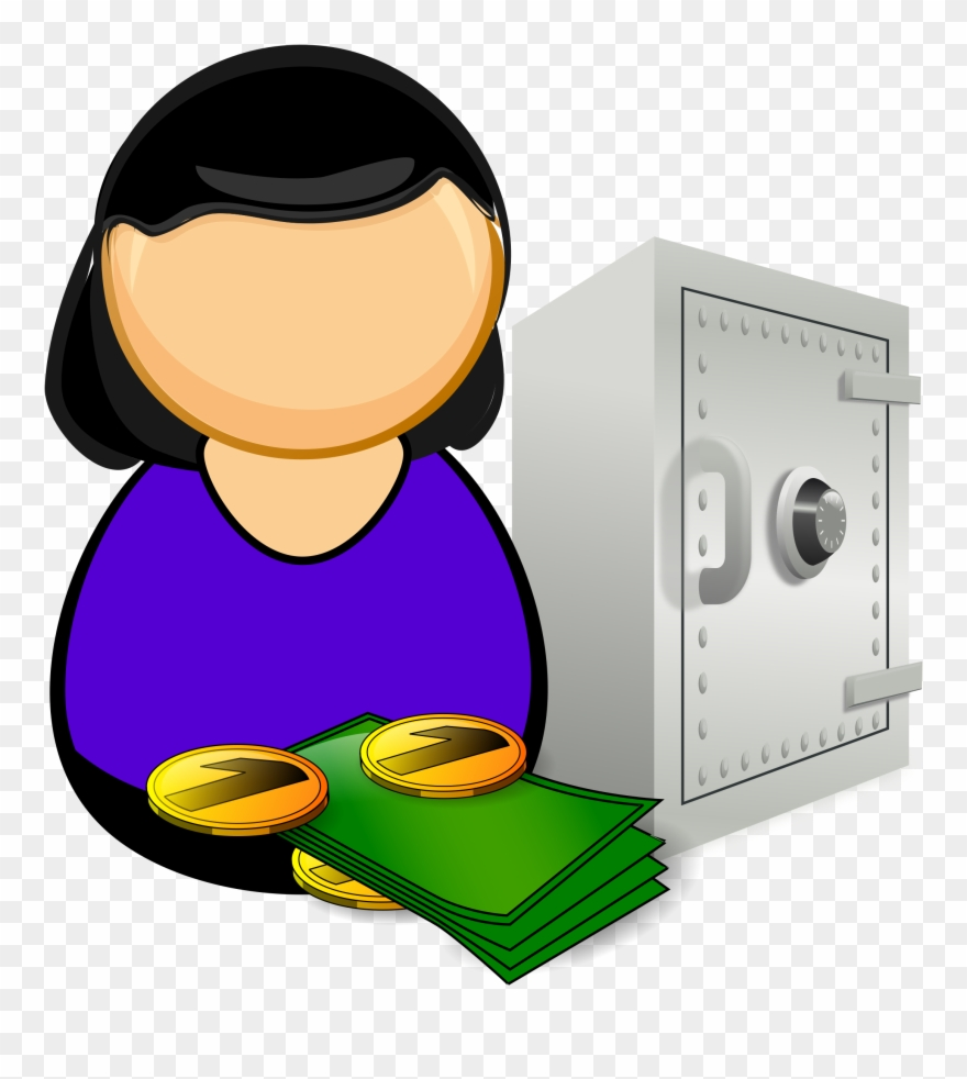 picture free stock Banker clipart accountant. Clip art bank png.