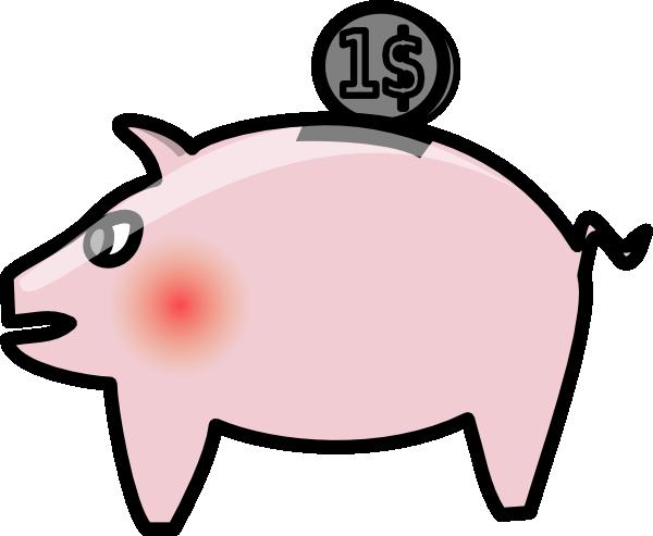 clip royalty free library Piggybank Clip Art at Clker
