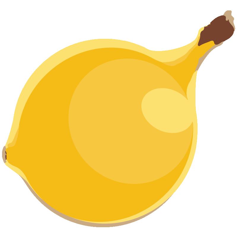 image library stock I was a banana. Bananna clip round
