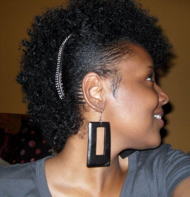 clip library library Bananna clip natural hair. Banana for mohawk look