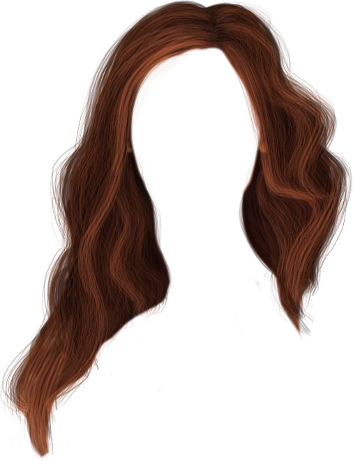 image royalty free download Hairstyle Long hair Clip art